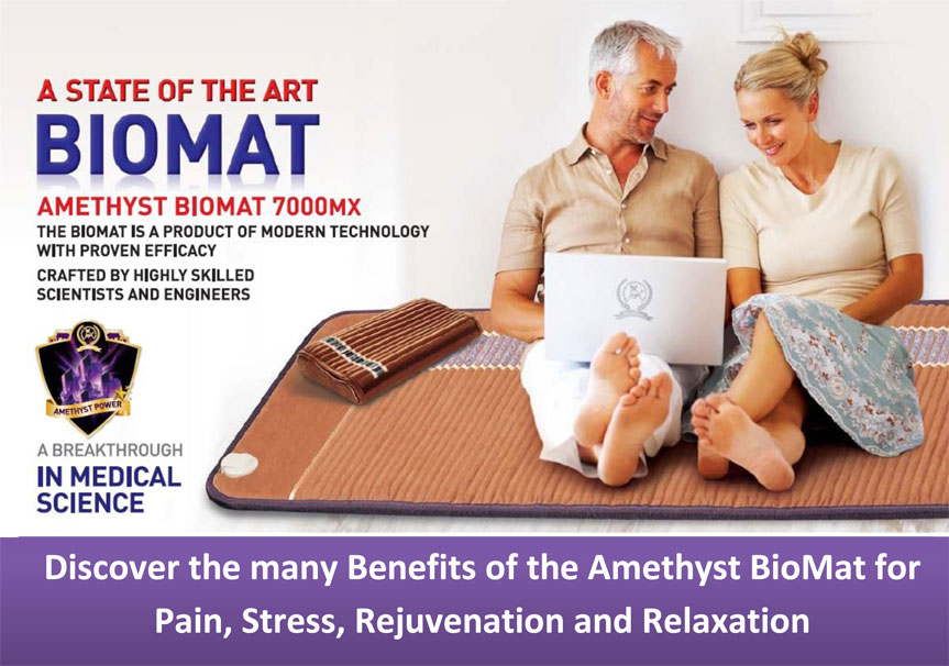amethyst comfort mini product bio combo richway biomat and mat professional